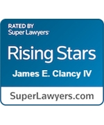 Super Lawyers James Clancy Rising Star